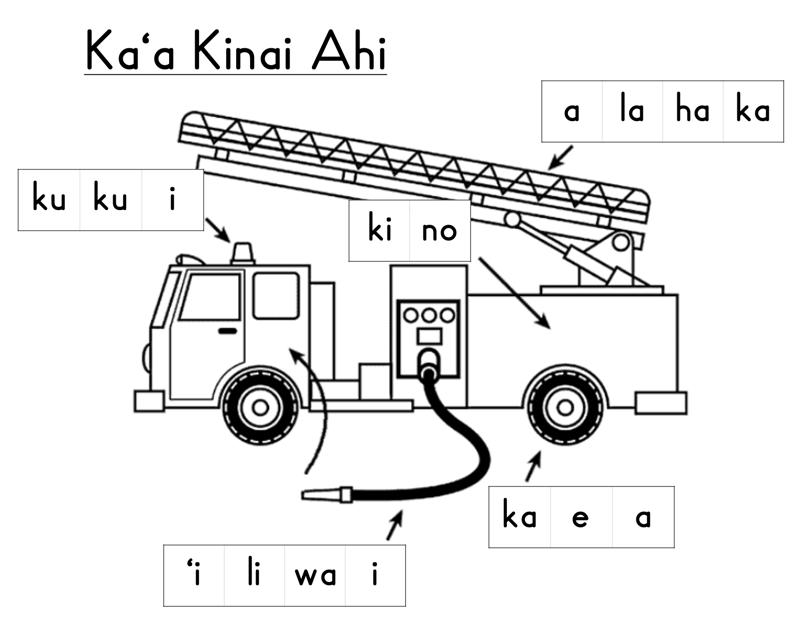 Ka'a Kinai Ahi worksheet