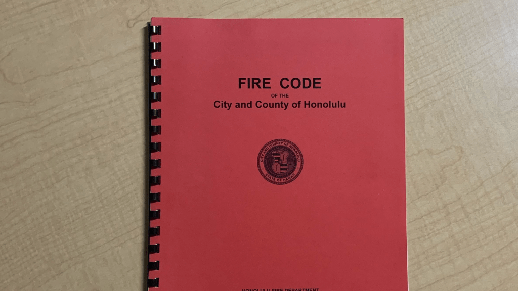 Fire Code of the City and County of Honolulu