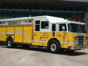 HFD Hazmat 2 fire truck